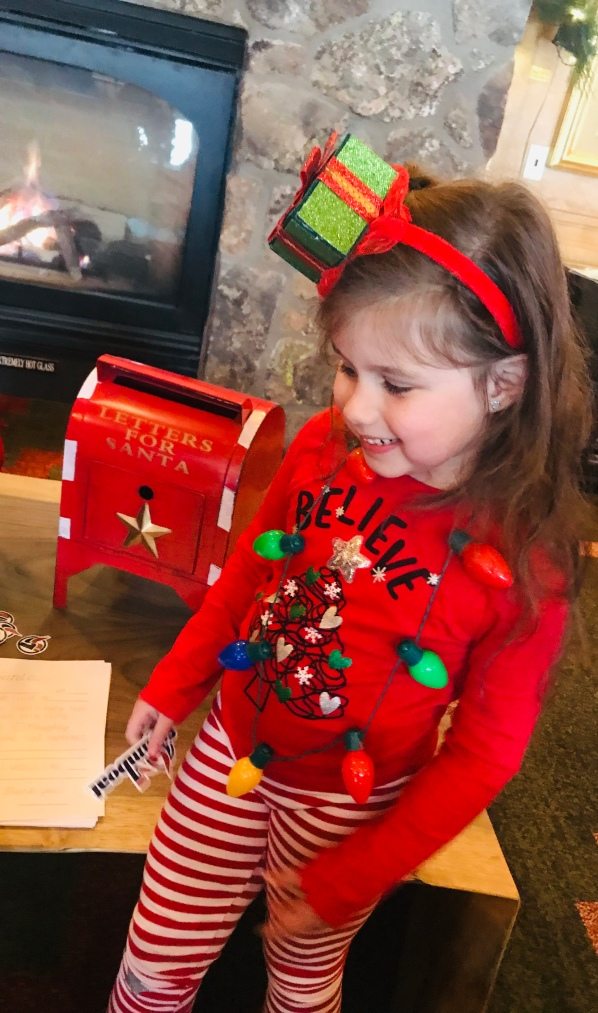 Letters to Santa, Steamboat Grand, ski vacation