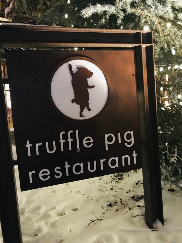 Truffle Pig, Apres Ski, Steamboat Resort, skiing
