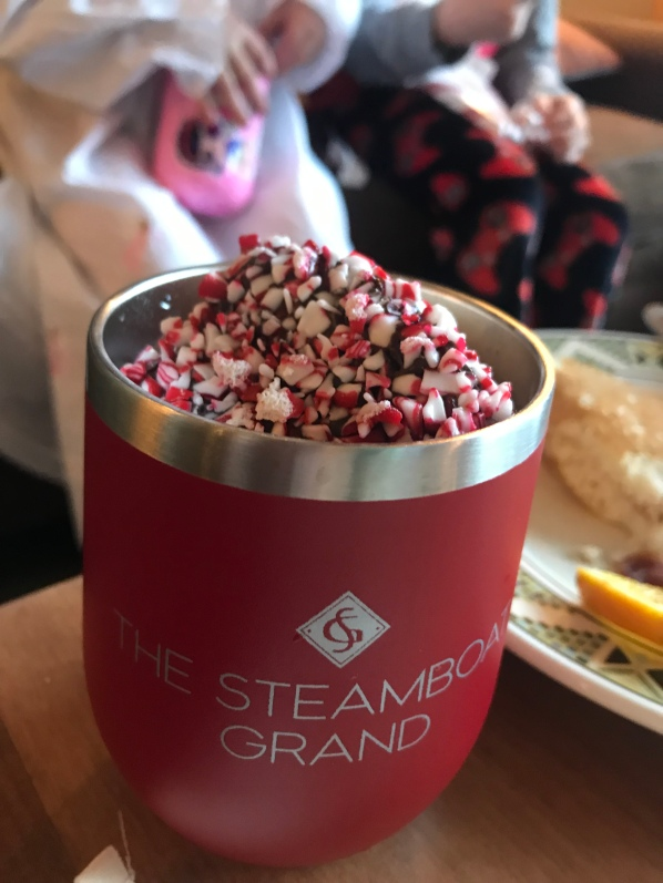 Steamboat Grand, room service, Hot chocolate, vacation